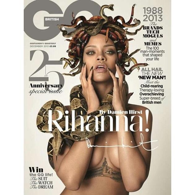 Rihanna GQ Picture